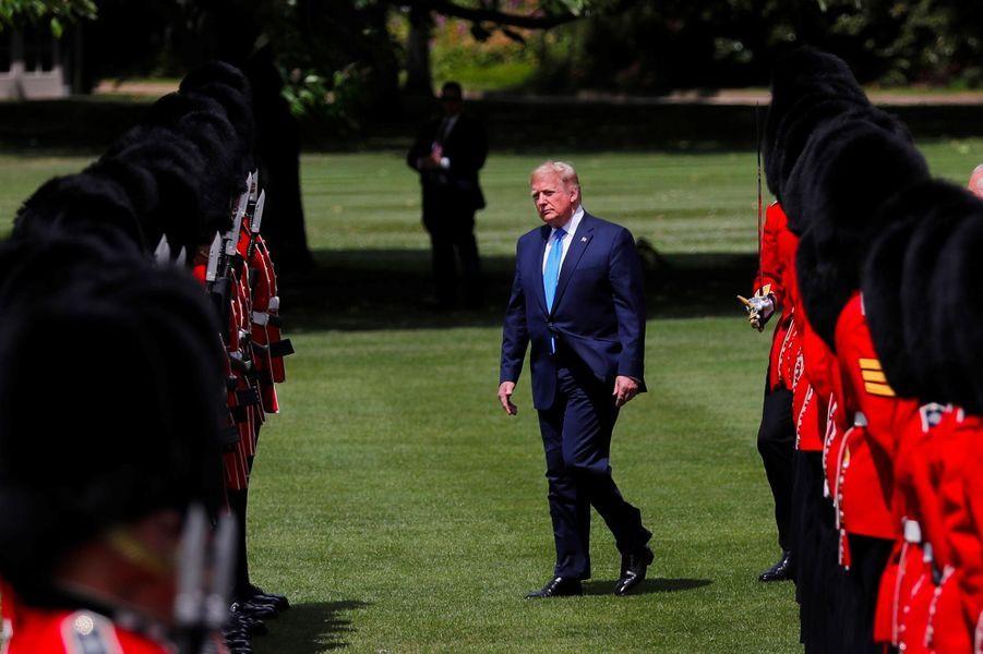 Donald Trump à Buckingham Palace, le 3 juin 2019.
