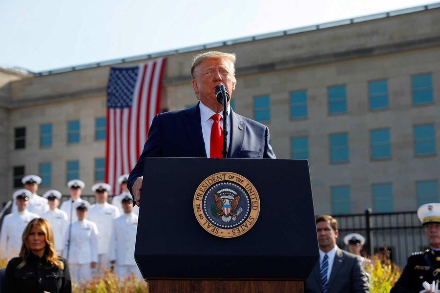 Donald Trump au Pentagone, le 11 septembre 2019.