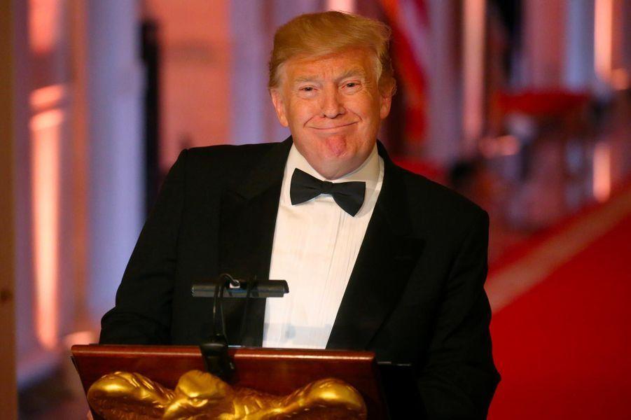 Donald Trump à la Maison-Blanche, le 15 mai 2019.