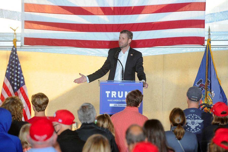 Eric Trump à Erie, en Pennsylvanie, le 21 septembre 2020.