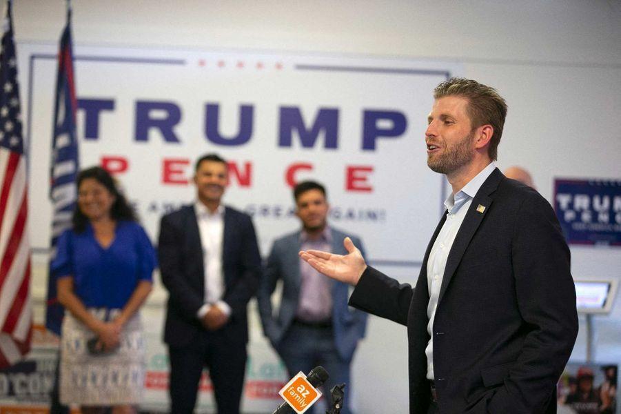 Eric Trump à Phoenix, dans l'Arizona, le 23 septembre 2020.