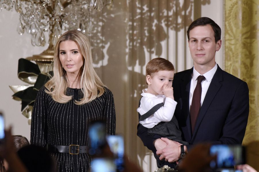 Jared Kushner et Ivanka Trump à la Maison Blanche, le 7 décembre 2017.