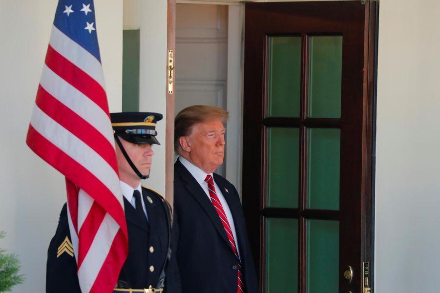 Donald Trump à la Maison-Blanche, le 19 mars 2019.