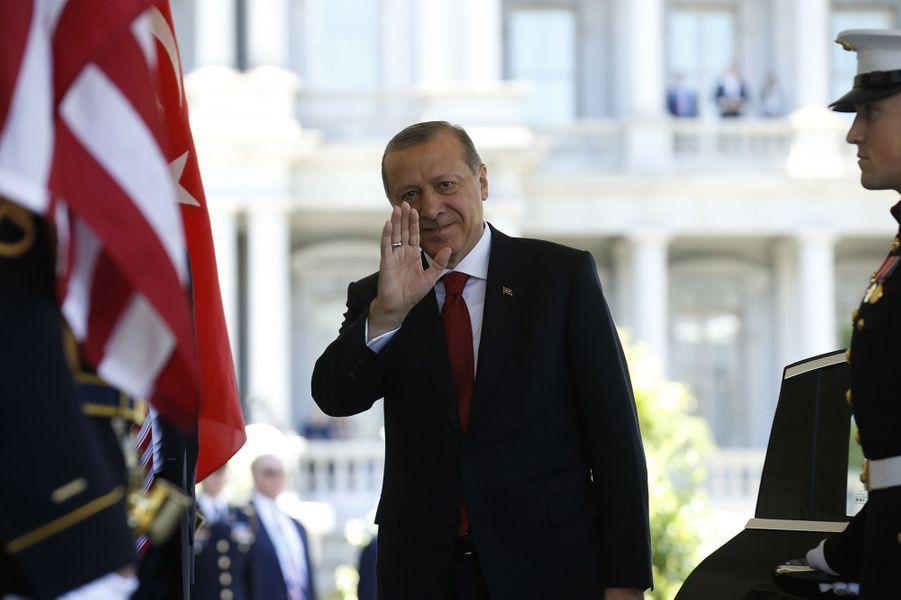 Recep Tayyip Erdogan à la Maison Blanche mardi