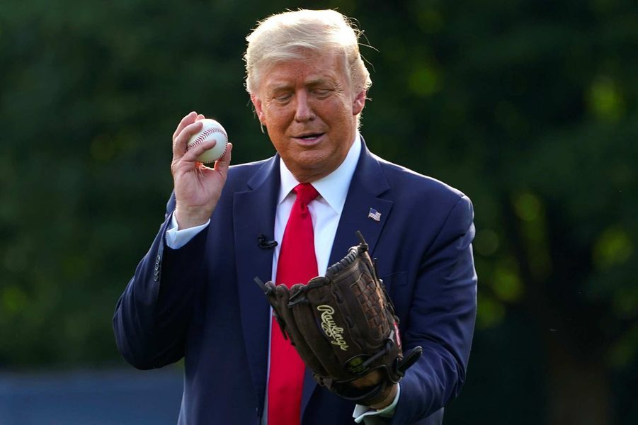Donald Trump à la Maison-Blanche, le 23 juillet 2020.