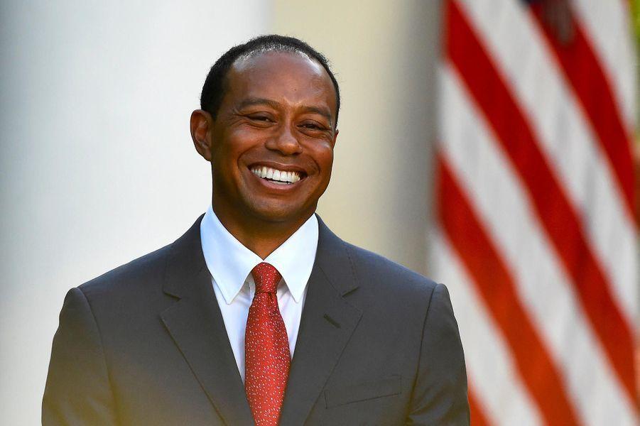 Tiger Woods à la Maison-Blanche, le 6 mai 2019.