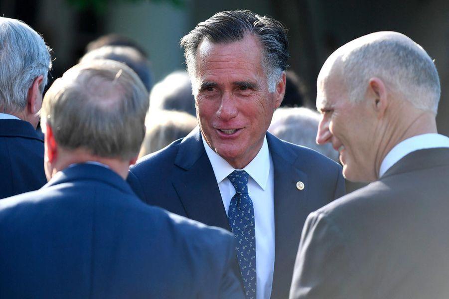 Mitt Romneyà la Maison-Blanche, le 6 mai 2019.