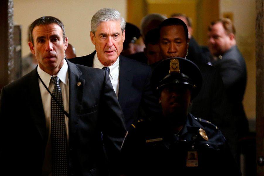 Robert Mueller, ici le 21 juin 2017, le procureur spécial nommé après le limogeage de James Comey.A lire : Encore une fois, Donald Trump s'attaque à Robert Mueller