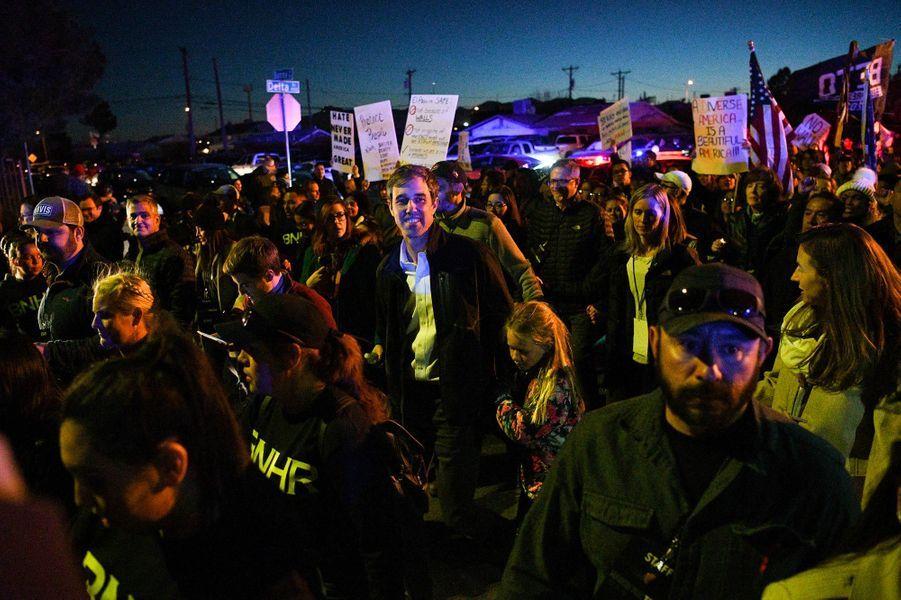 Beto O'Rourke à El Paso, au Texas, le 11 février 2019.