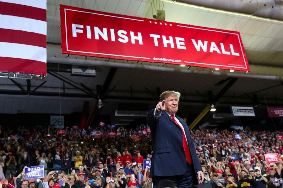 Donald Trump à El Paso, au Texas, le 11 février 2019.