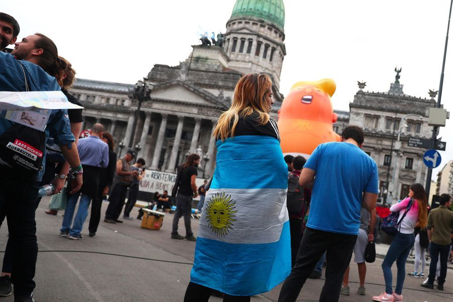 «Trump Baby» à Buenos Aires, le 30 novembre 2018.