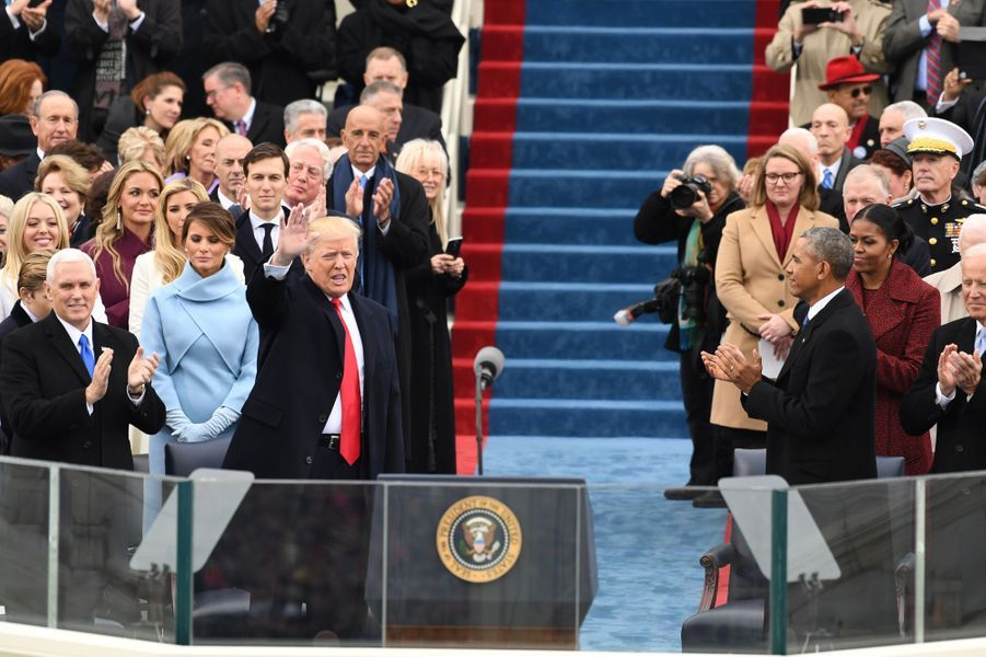 Donald Trump a prêté serment vendredi 20 janvier 2017.