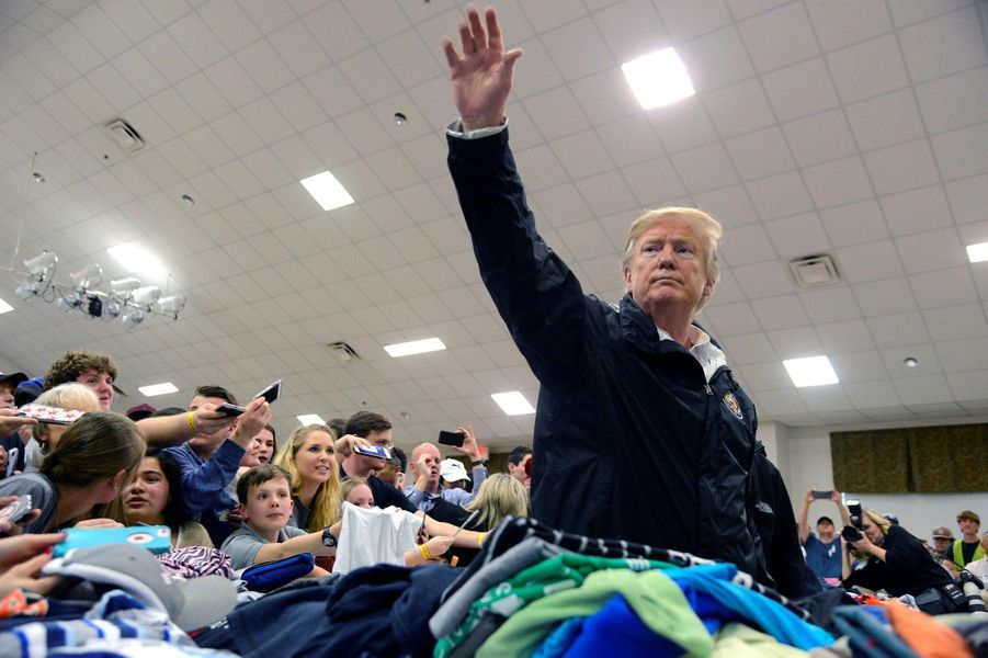 Donald Trump à Beauregard, dans l'Alabama, le 8 mars 2019.