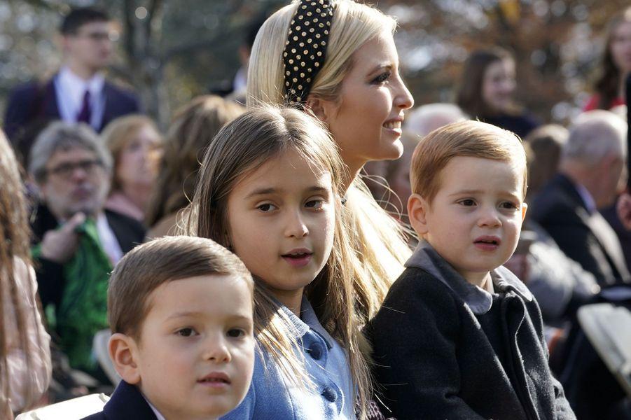 Ivanka Trump et ses trois enfants Joseph, Arabella et Theodore