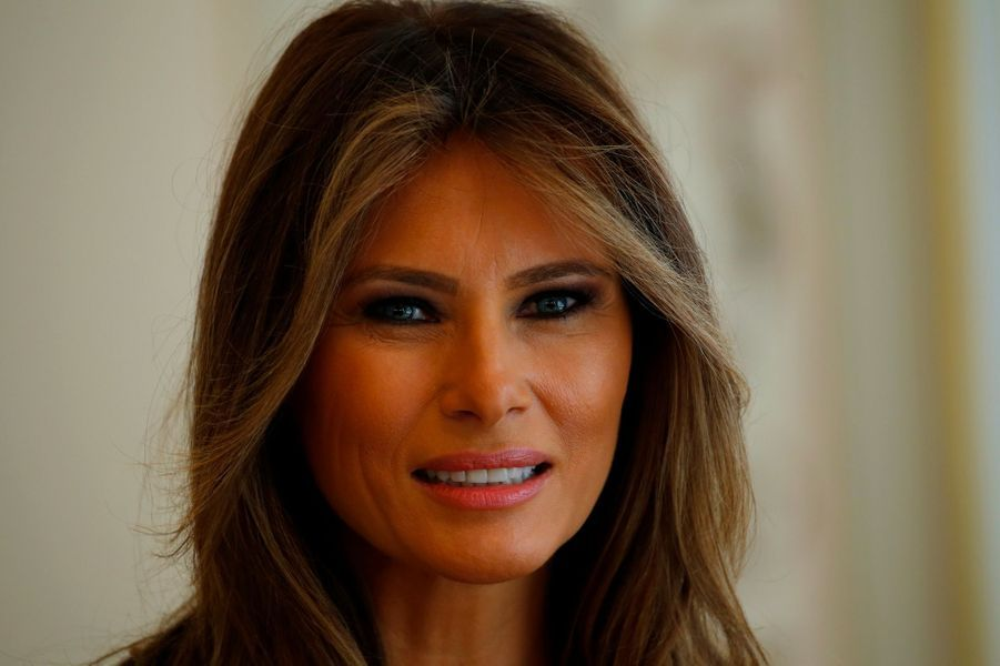 Melania Trump, le 6 juillet 2017.