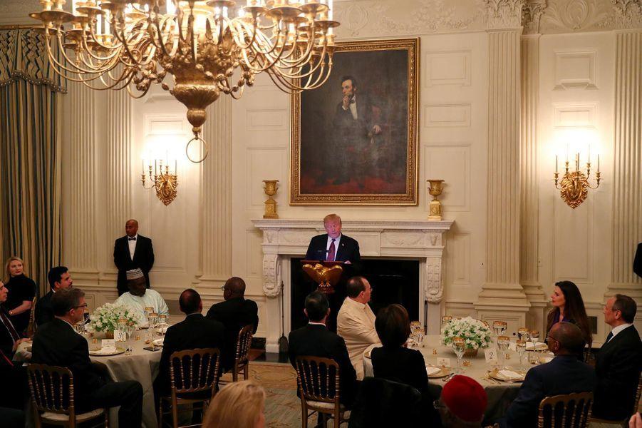 Donald Trump à la Maison-Blanche, le 13 mai 2019.