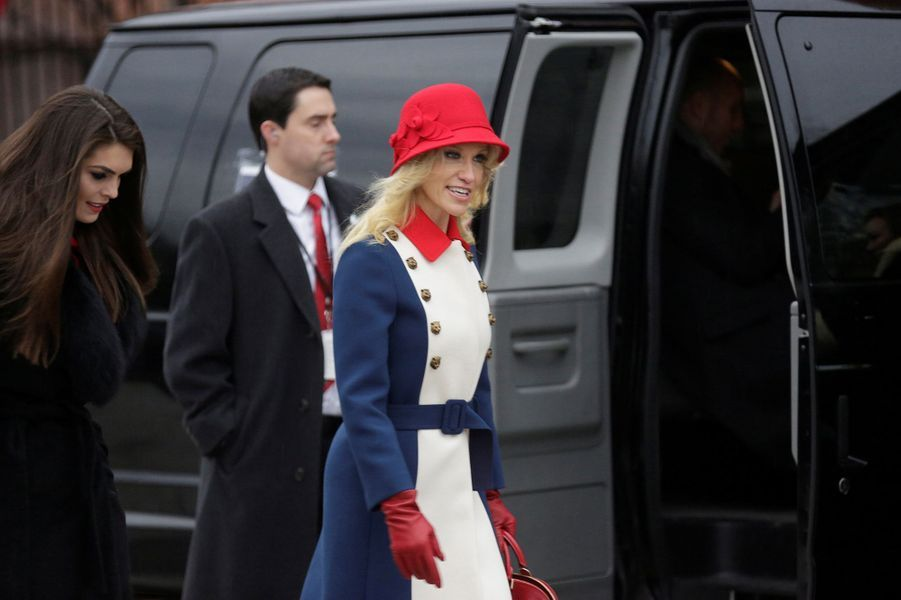 Kellyanne Conway, directrice de la campagne de Donald Trump,le 20 janvier 2017.