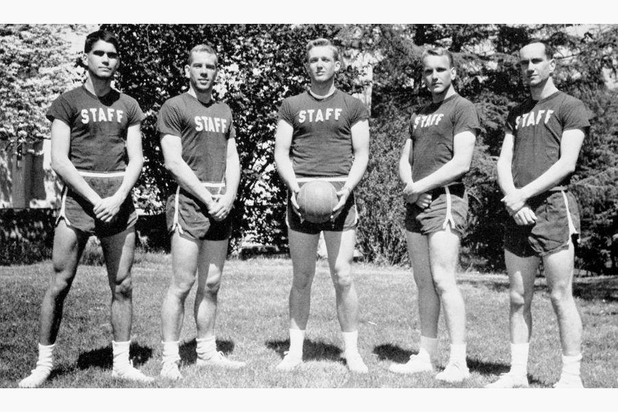 Donald Trump à la New York Military Academy, entre 1959 et 1964.
