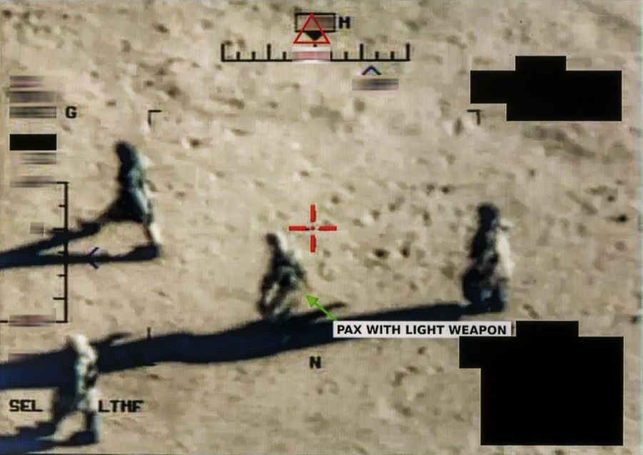 Des hommes armés sont repérés.