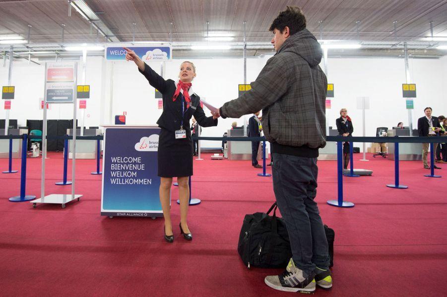 Émotion après le décollage d'un premier avion à Bruxelles