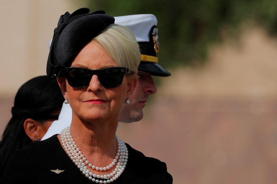 Cindy McCain, la veuve de John McCain, le 30 août 2018.