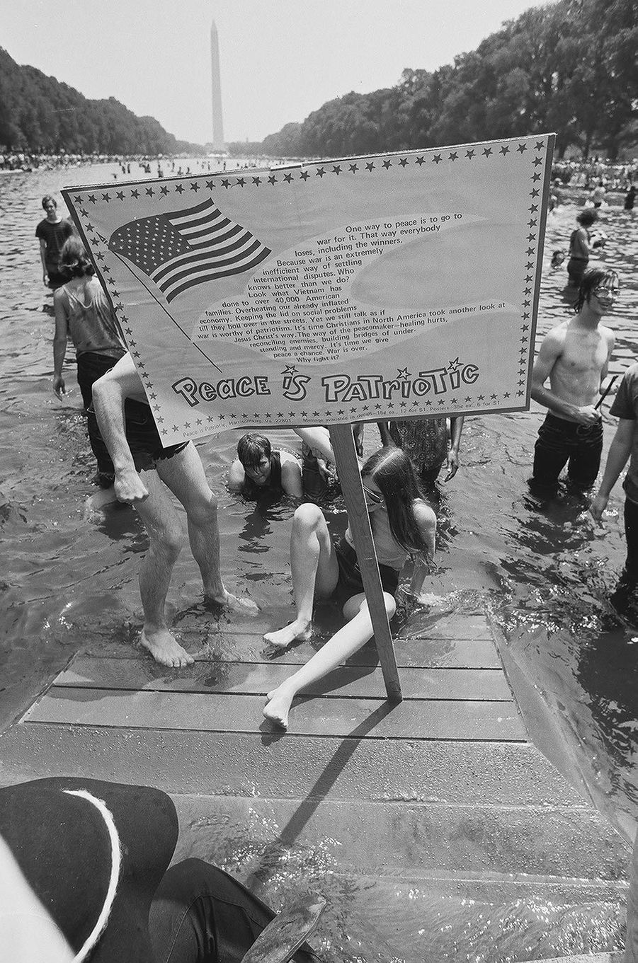 Lors duHonor America Day à Washington, le 4 juillet 1970.