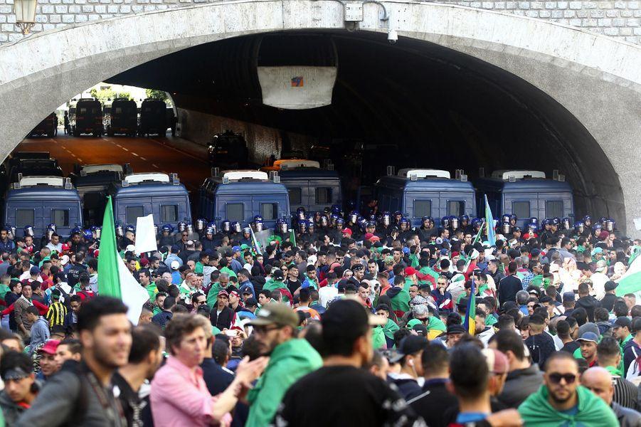 Manifestation à Alger, le 26 avril 2019.