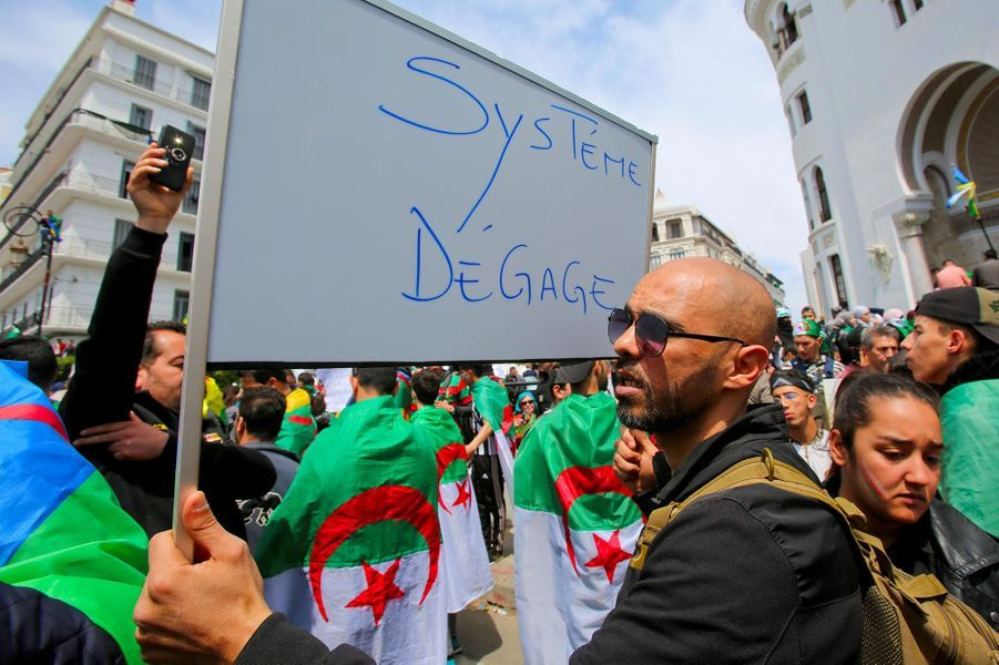 Manifestation à Alger, le 12 avril 2019.