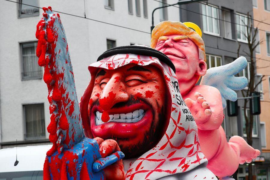 Au carnaval de Dusseldorf, en Allemagne, le 4 mars 2019.