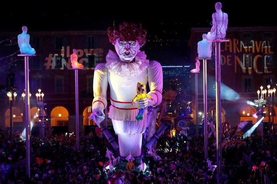 Au carnaval de Nice, en février 2019.