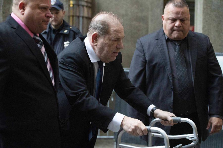Harvey Weinstein à New York, le 11 décembre 2019.