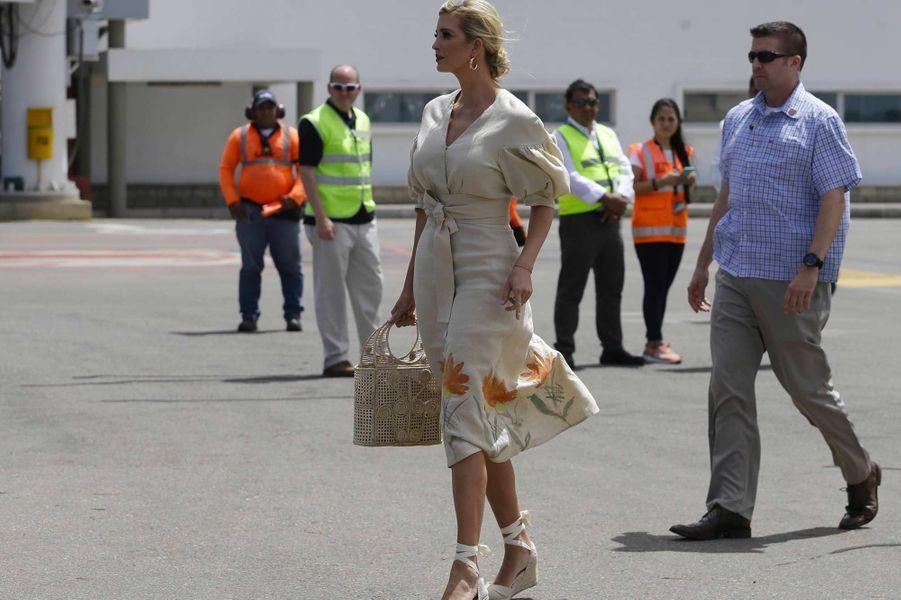 Ivanka Trump avant de partir pour Cúcuta, en Colombie, le 4 septembre 2019.