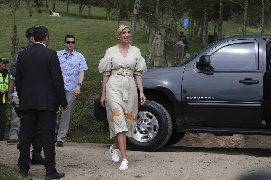 Ivanka Trump à Usme, en Colombie, le 4 septembre 2019.