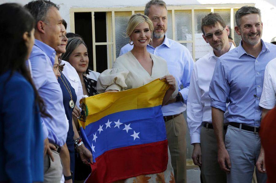 Ivanka Trump à Cúcuta, en Colombie, le 4 septembre 2019.