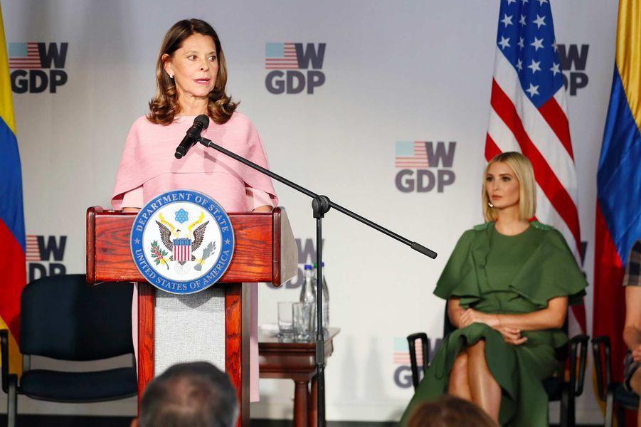 La vice-présidente colombienne Marta Lucía Ramírez à Bogota, le 3 septembre 2019.