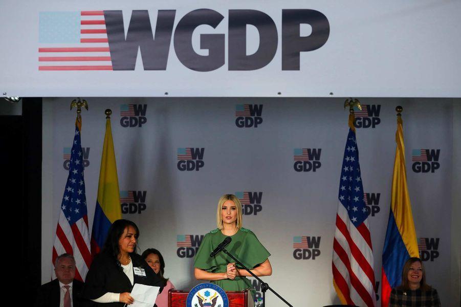 Ivanka Trump à Bogota, en Colombie, le 3 septembre 2019.