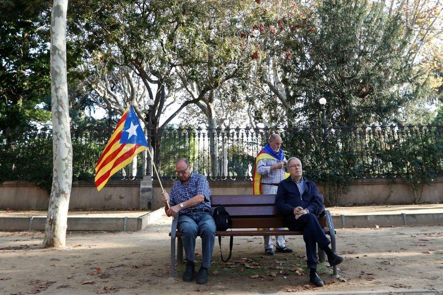 A Barcelone, le 27 octobre 2017.