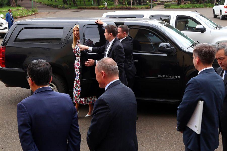 Ivanka Trump à Addis-Abeba, en Ethiopie, le 14 avril 2019.