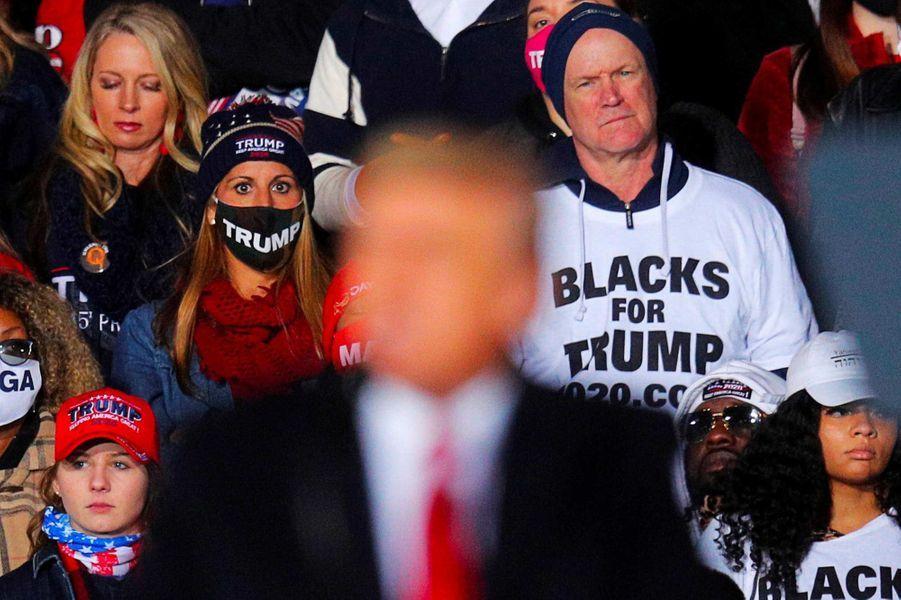 Donald Trump à Dalton, en Géorgie, le 4 janvier 2021.