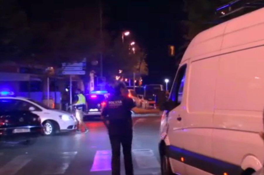 Nuit de tension à Cambrils, le 18 août 2017.