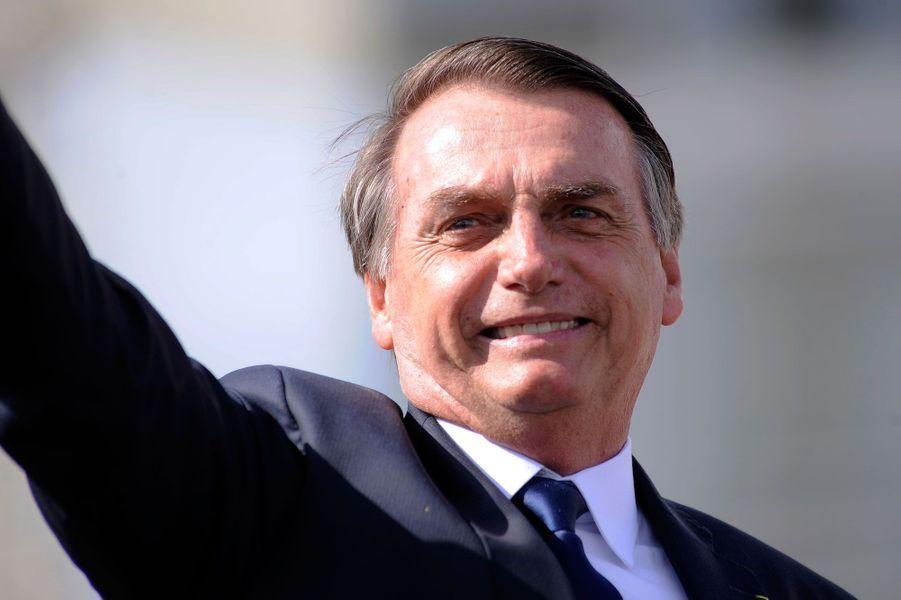 Jair Bolsonaro, intronisé président du Brésil, le 1er janvier 2019.