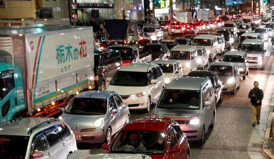 Des embouteillages monstres