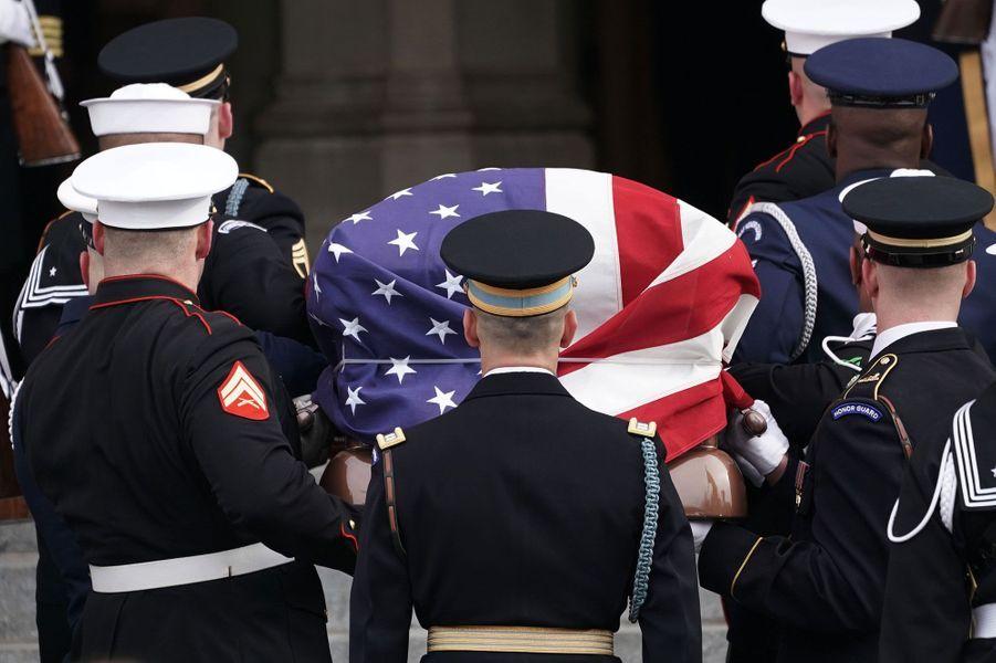 Funérailles de George H.W. Bush à Washington le 5 décembre 2018