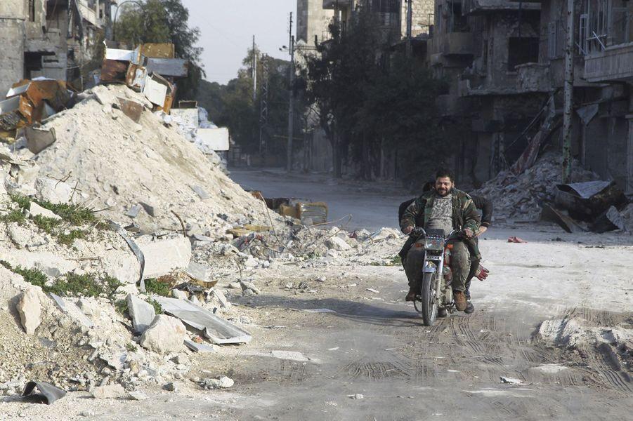 A Alep, la vie en ruines, le 28 janvier 2016