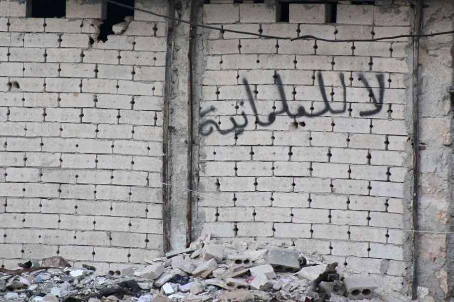A Alep, la vie en ruines, le 31 janvier 2016