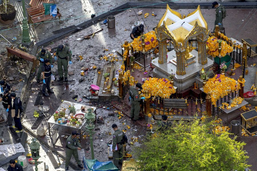 "A Bangkok, la ""pire attaque jamais commise"""
