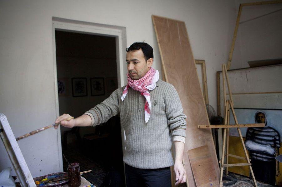 «Mes rêves en tant qu'artistes ont changé. Avant, je rêvais de sortir de Gaza, pour pouvoir être un bon artiste. Je suis allé en Suisse, à Paris. Mais aujourd'hui, j'ai changé. Je rêve de faire de l'art dans Gaza. Je rêve que les gens ici s'intéressent à l'art et aux artistes. Je rêve de créer un festival d'art, de pouvoir me balader à Gaza et trouver des sculptures dans les rues comme en Europe. Mon rêve concerne en réalité plus Gaza aujourd'hui».