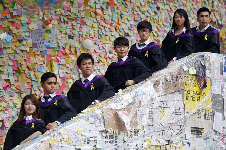 Les manifestants sont encore dans les rues de Hong Kong