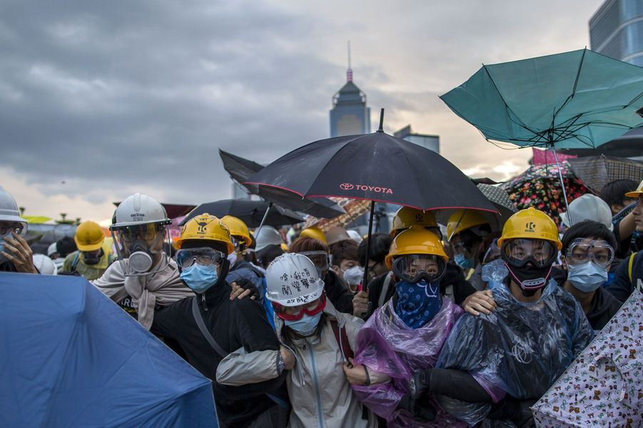 A Hong Kong, les manifestants ne flanchent pas
