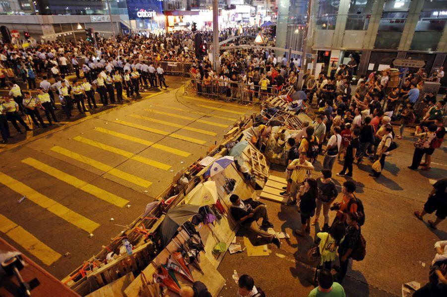 Les manifestations à Hong Kong, le 19 octobre
